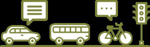 Newton/Needham Transportation Survey Graphic